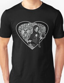 (Love Series 1) Deadpool And Mistress Death T-Shirt