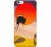 Mad Max silhouette iPhone Case/Skin