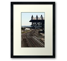 A Harmony of Curves at Seattle Framed Print