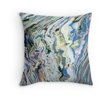 Fluctuating Geology Throw Pillow
