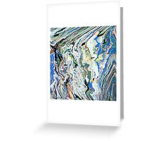 Fluctuating Geology Greeting Card