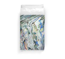 Fluctuating Geology Duvet Cover