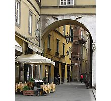 Lucca Arch Photographic Print