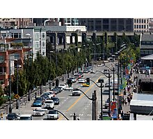 Alaskan Way in Seattle Photographic Print