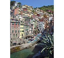 Riomaggiore, Cinque Terre Photographic Print