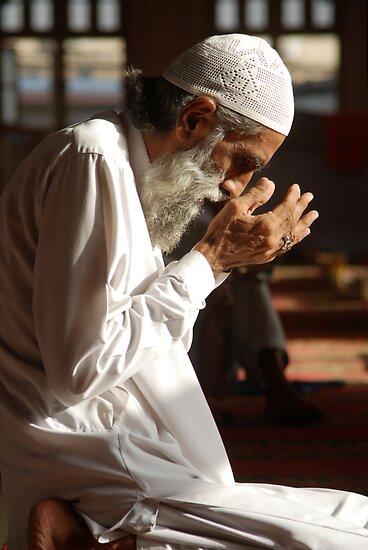 Man In Prayers by fahadee