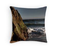 Ocean Rock Throw Pillow