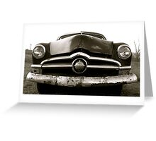 1954 Ford Greeting Card