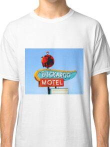 Buckaroo Motel Sign, Tucumcari, New Mexico  Classic T-Shirt