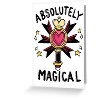 Absolutely Magical Greeting Card