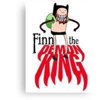 Finn the Demon King Canvas Print