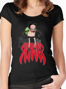 Finn the Demon King Women's Fitted Scoop T-Shirt