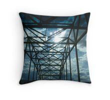 The Vantage Bridge in the state of Washington  Throw Pillow