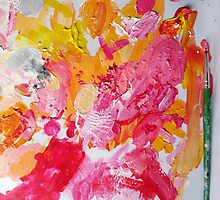 A Painter's Palette  by Kimberly  Daigle