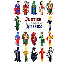 8 bit Justice Photographic Print