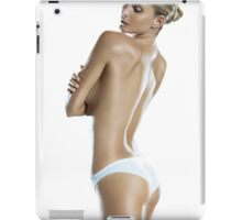 Girl ocean bikini summer sexy hot fresh blond swag eyes dope trend trending iPad Case/Skin