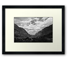 Ouray Colorado Framed Print