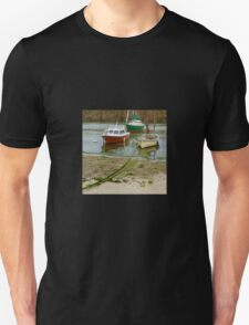 Fishing Boats in Mousehole Harbour, Cornwall T-Shirt