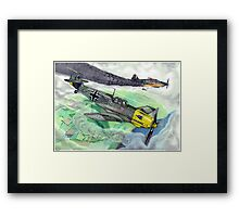 """Wicked Attack"" Framed Print"