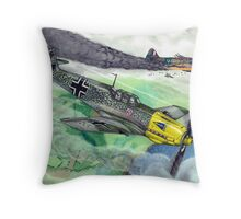 """Wicked Attack"" Throw Pillow"