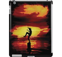 The Crane Kick Karate Kid iPad Case/Skin