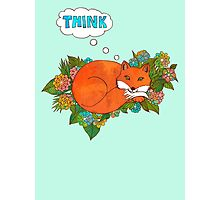 Think Outside the Fox Photographic Print