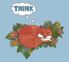 Think Outside the Fox Baby Tee
