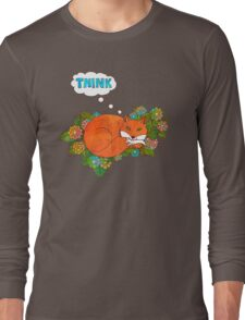 Think Outside the Fox Long Sleeve T-Shirt