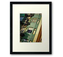 San Francisco Heights  Framed Print