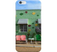 Blue Swallow Motel, Route 66, Tucumcari, New Mexico iPhone Case/Skin