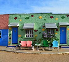 Blue Swallow Motel, Route 66, Tucumcari, New Mexico by Catherine Sherman