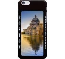 The First Church of Christ, Scientist, in Boston, Massachusetts iPhone Case/Skin