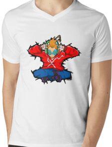 Stereo Yogi Mens V-Neck T-Shirt