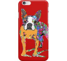 Boston Terrier Graffiti iPhone Case/Skin