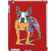 Boston Terrier Graffiti iPad Case/Skin