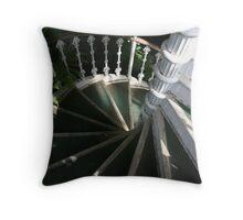 Victorian Stairway Throw Pillow