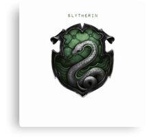 Slytherin Crest Harry Potter Canvas Print