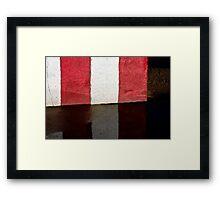 Barrier Framed Print