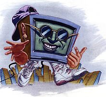 TV Rapper by Mike Cressy