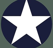 US historical roundel 1942-1943 by wordwidesymbols