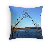 Praying For Rain Lake Jindabyne New South Wales Throw Pillow