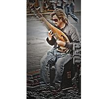 Adelaide musician Photographic Print