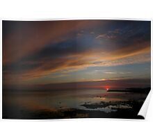 Skyscape at Twilight Poster