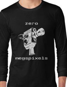 zero megapixels Long Sleeve T-Shirt