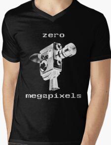 zero megapixels Mens V-Neck T-Shirt