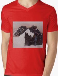 A little comfort-Milltown Fair Mens V-Neck T-Shirt