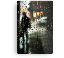 Waiting out the rain Metal Print