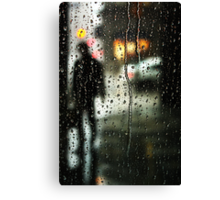 Waiting out the rain Canvas Print