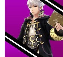 Robin/Male Original-Smash 4 Phone Case by TomsTops