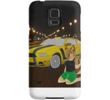Mai and her stang Samsung Galaxy Case/Skin